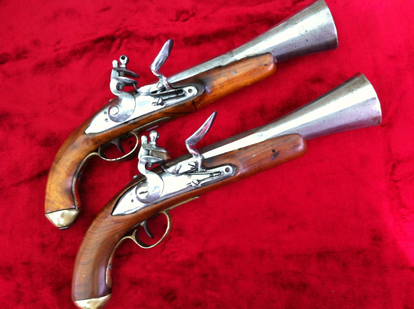 European Flintlock Blunderbuss Pistol | Cowan's Auction ...