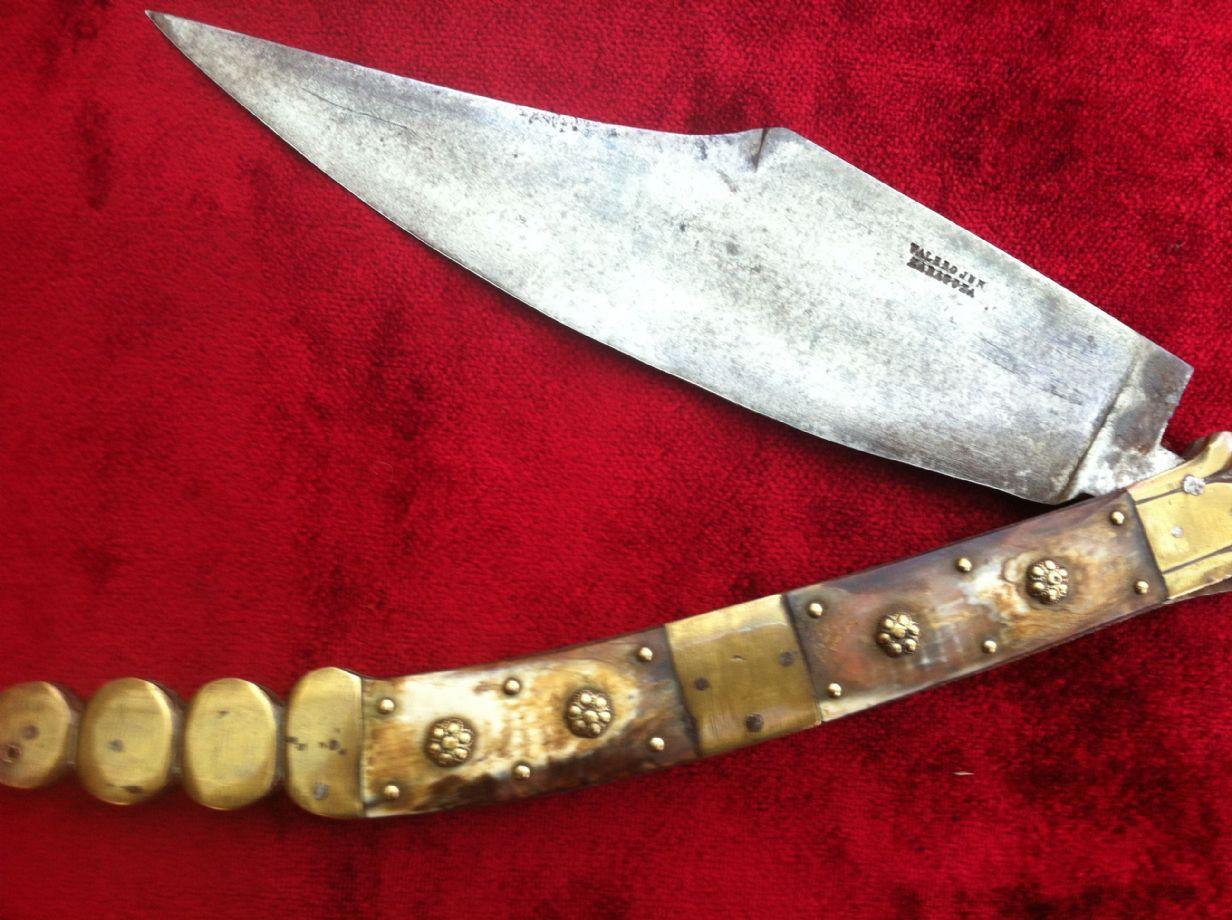 Navaja Knife Navaja or Folding Knife
