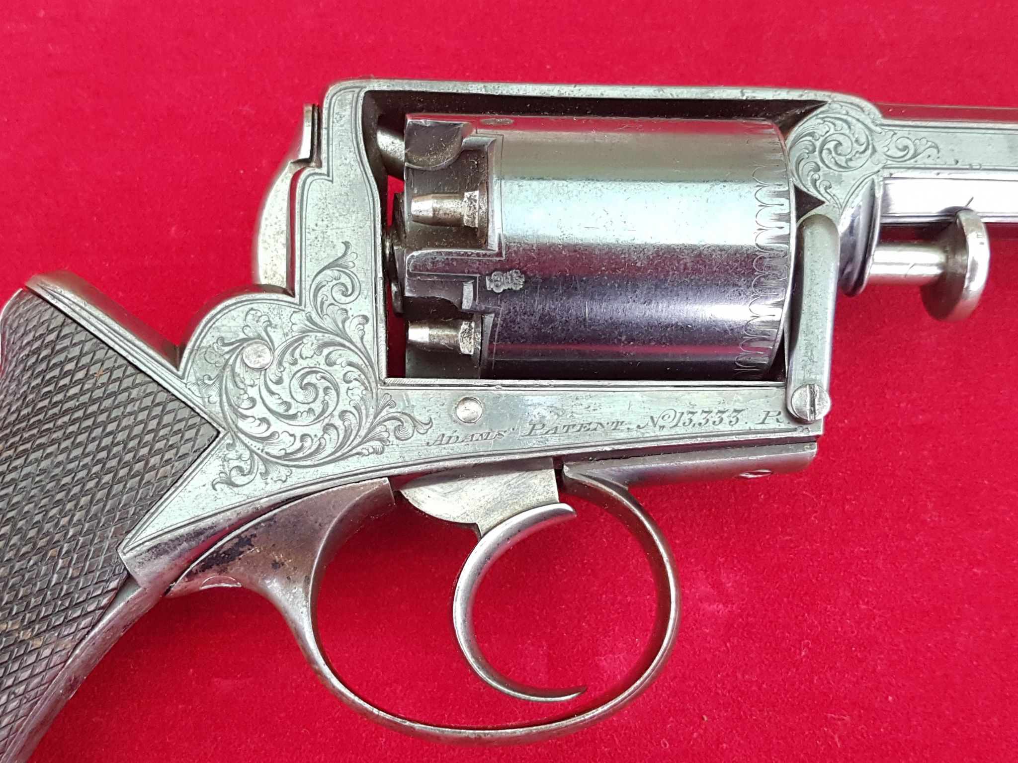 An exceptional 54 bore percussion revolver by Deane Adams & Deane