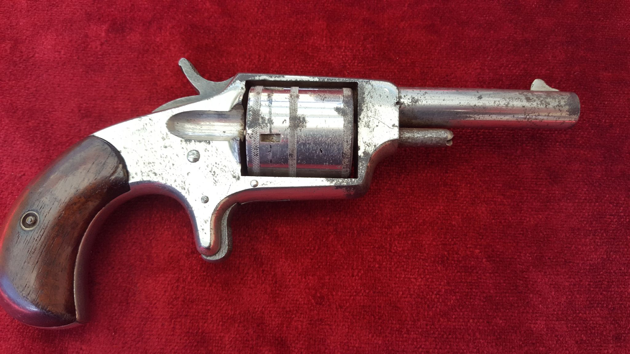 X X X Sold X X X 5 Shot 32 Rimfire Pocket Revolver Made By Hopkins