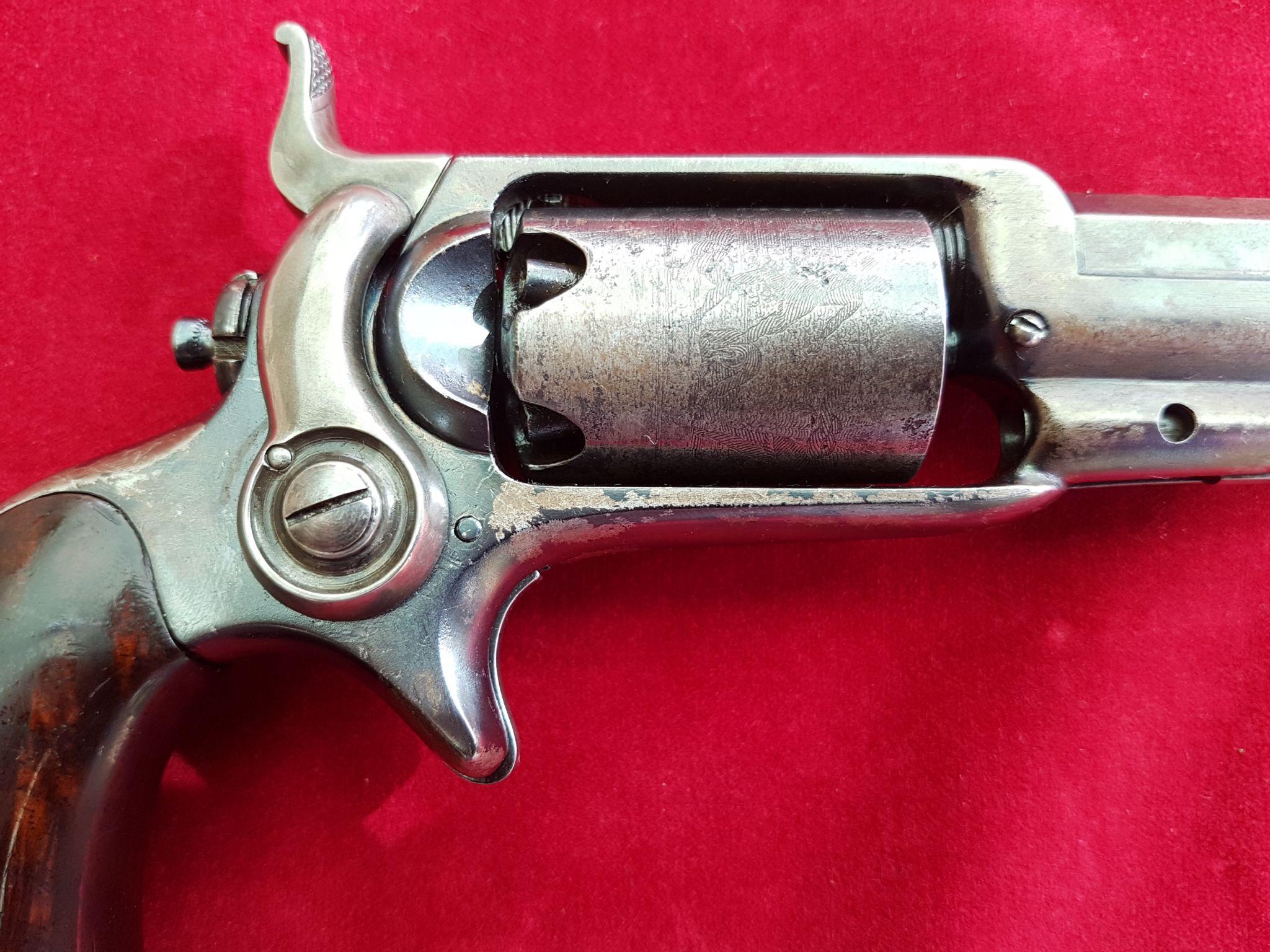 X X X SOLD X X X Colt Roots pocket 1855 model percussion revolver