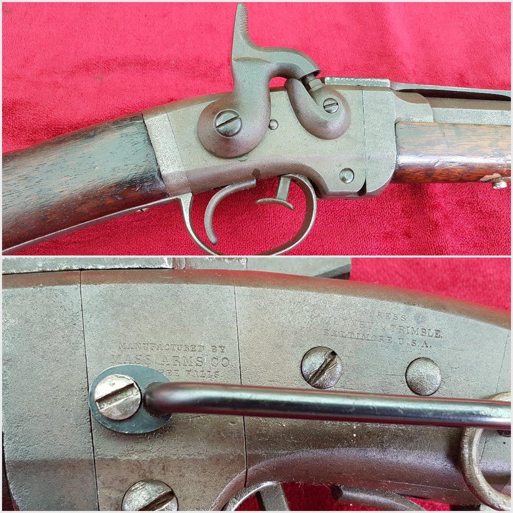 X X X SOLD X X X Smiths patent U S  Civil War carbine  Side